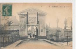 BERGUES  Porte De  Cassel   Animée - Bergues