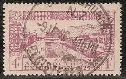 NUEVA ZELANDA 1925 - Yvert #182 - VFU - 1907-1947 Dominion
