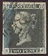 GRAN BRETAÑA 1841 - Yvert #4a - VFU (4 Margenes) - 1840-1901 (Victoria)