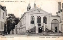 Mons En Laonnois ( Aisne ) - La Mairie - 02 - - France