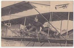 (Aviation) 058, Aviateur, Rameau, Charles Poidlouë Sur H Farman - Airmen, Fliers