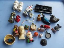 Lot De 24 Miniatures Divers Thèmes - Miniature