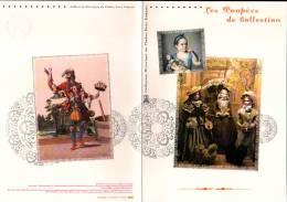 2009 - DOCUMENT OFFICIEL - LES POUPEES DE COLLECTION - Documents De La Poste