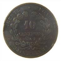 FRANCE (REPUBLIQUE) - 10 CENTIMES (1886) - A / QUALITE - Francia