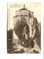 CP -  LAMBALLE (22) Chateau De La HUNAUDAIE  Détails D'une Ses Tours - France