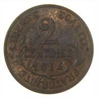 FRANCIA FRANCE 2 CENTIMES 1914 HIGH GRADE - Francia