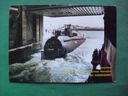 Direction Des Constructions Et Armes Navales De CHERBOURG  (Lancement Du SNA EMERAUDE  -  Le 12 Avril 1986) - Cherbourg