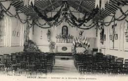55  SENON            Intérieur De La Nouvelle église Provisoire - France