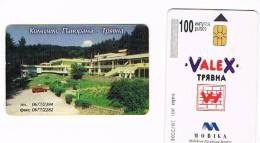 BULGARIA - CHIP MOBIKA - 2002 PANORAMA HOTEL VALEX - USATA (USED) - RIF. 7442 - Bulgaria