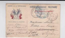 CARTE POSTALE Des Armées  ILLUSTREE MODELE 404 -  1916 - 2° GENIE à MONTPELLIER (HERAULT) - Marcophilie (Lettres)