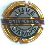 PLACA DE CAVA JUVE CAMPS CINTA PURPURA 2316 - Placas De Cava