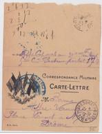 CARTE LETTRE  ILLUSTREE  - SP178 - 309° TERRITORIAL - 1915 - - Marcophilie (Lettres)