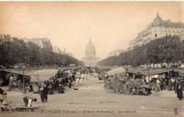 PARIS AVENUE DE BRETEUIL LE MARCHE CARTE PRECURSEUR - District 07