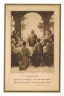 """IMAGE PIEUSE  : """" Souvenir Communion CHANGIS SAINT JEAN Germaine LEPRETRE  - La Cène...  """" - Kommunion Und Konfirmazion"""