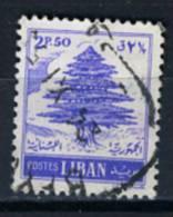 1955 - LIBANO - LEBANON - Scott Nr.  289 - Mi 538 - Used - (S02052013.....) - Libano