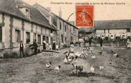 THIERCEVILLE - Intérieur De La Ferme De Monsieur Cherfils  - 1911 - - France
