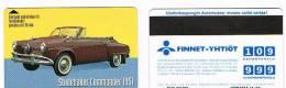FINLANDIA (FINLAND) - FINNET (MAGNETIC) -  STUDEBAKER COMMANDER 1951  CODE 8030 EXP.12.00 (TIR.6000)  - USED - RIF. 3938 - Finlandia