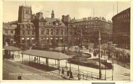GRA159 - Bradford - Forster Square And G.P.O. - Bradford
