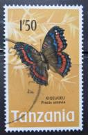 Briefmarke Tanzania 1973 Schmetterling Butterfly Papillon - Schmetterlinge