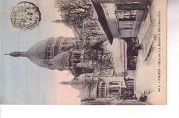 PARIS   RUE DE LA BARRE A MONTMARTRE Colorisé - Arrondissement: 18