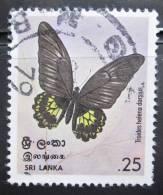 Briefmarke SRI LANKA 1978  Schmetterling Butterfly Papillon - Schmetterlinge