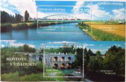 CROATIA - Souvenir Sheet - Bridges - 2013 - Croatie