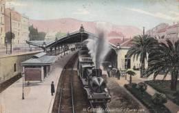 CANNES - Le Rapide Côte D´Azur En Gare Train - Cannes