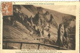 Route Des Alpes De Briançon Au Queyras Le Site Celebre De La Casse Deserte - France