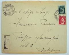 ITALIA REGNO 1941 RACC DA TRESIGALLO A BOLOGNA - * - Storia Postale