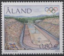 PIA  -  ALAND -  2004  :  Giochi  Olimpici   (Yv  240) - Aland