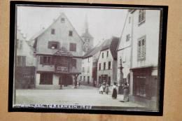 Grande Photographie De Turckheim En 1905 Reproduite Dans Les Années 80 Au Format 18 X 13 Cm - Lieux