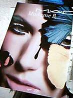 PUBBLICITA MADAME B TRUCCHI MAKEUP MILANO  FARFALLA E VISO N1985  EF14879 - Publicité