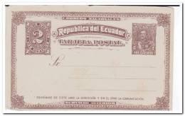 Ecuador 1892? Postcard - Ecuador