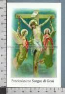 Xsb989 PREZIOSISSIMO SANGUE DI GESU Santino Holy Card - Religione & Esoterismo