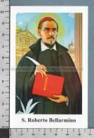 Xsb1053 SAN ROBERTO BELLARMINO DI MONTEPULCIANO Santino Holy Card - Religione & Esoterismo