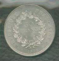 1976 FRANCIA FRANCE HERCULES  50 FRANCS - Francia