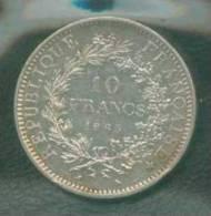 1965 FRANCIA FRANCE HERCULES  10 FRANCS - Francia