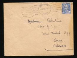 FONTENAY LE COMTE - 20 Juillet 1951 - VENDEE - Mechanical Postmarks (Other)