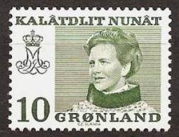 GREENLAND 1974 - FREIMARKEN: Queen MARGRETHE II - FLUOR Ex Mi 84y MNH ** V506b - Non Classificati