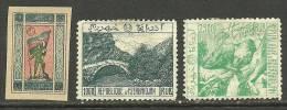ASERBAIDSCHAN AZERBAIDJAN 1918/1919, 3 Stamps, Unused - Azerbaïdjan