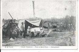 CONGO FRANCAIS - Vers Le Haut Pays - Campement - Congo Français - Autres