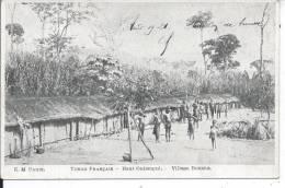 CONGO FRANCAIS - Haut Oubangui - Village Bouaka - Congo Français - Autres