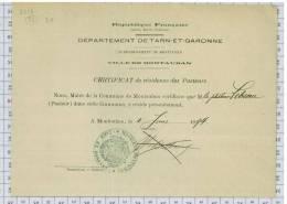 République Française, Département Du Tarn Et Garonne, Ville De Montauban, Dpt 82 - France