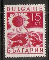Bulgaria 1938  Agricultural Products  (*) MH  Mi.322 - 1909-45 Kingdom