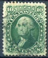 US 1861 - Sc.68 (Yv.22, Mi.20) Used (VF) Perfect - 1847-99 Unionsausgaben