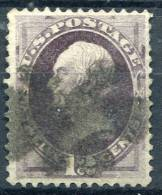 US 1873 Continental Bank Note Co. - Sc.162 (Yv.56) Used (VF) - Oblitérés