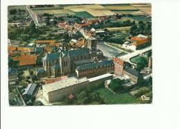 Templeuve Place Communale Vue Aerienne - Tournai