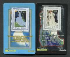 ITALIA TESSERA FILATELICA 2003 - EUROPA CEPT ARTE NEI POSTER - 02 TESSERE - 034 - 6. 1946-.. Repubblica