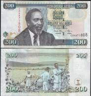 Kenya P 49 D - 200 Shillings 17.6.2009 - UNC - Kenya
