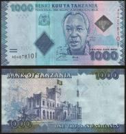 Tanzania P 41 - 1000 1.000 Shilingi Shillings 2010 2011 - UNC - Tanzania